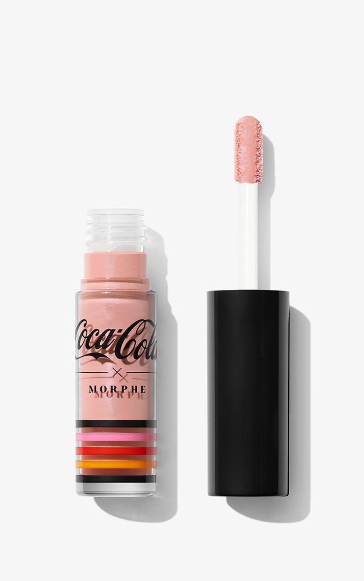 Coca Cola x Morphe - Lot de 4 mini-gloss brillants Lip in Harmony 8