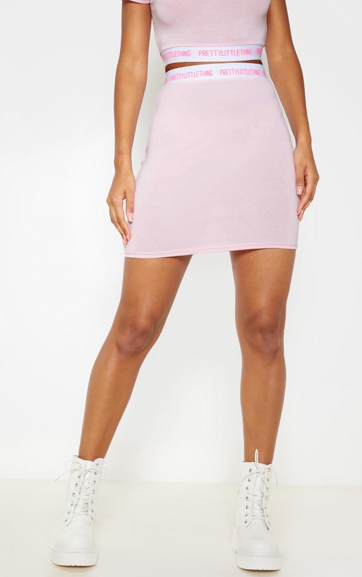 PRETTYLITTLETHING Pink Bodycon Mini Skirt 2