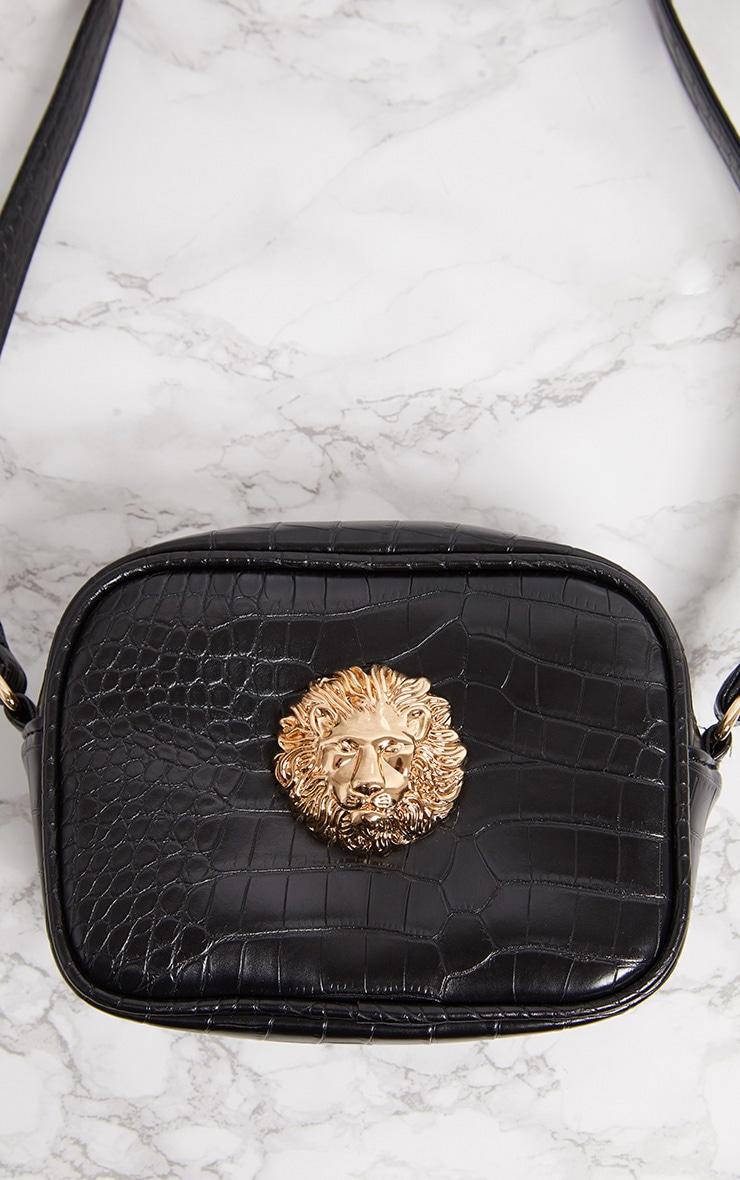 Black Lion Cross Body Bag 3