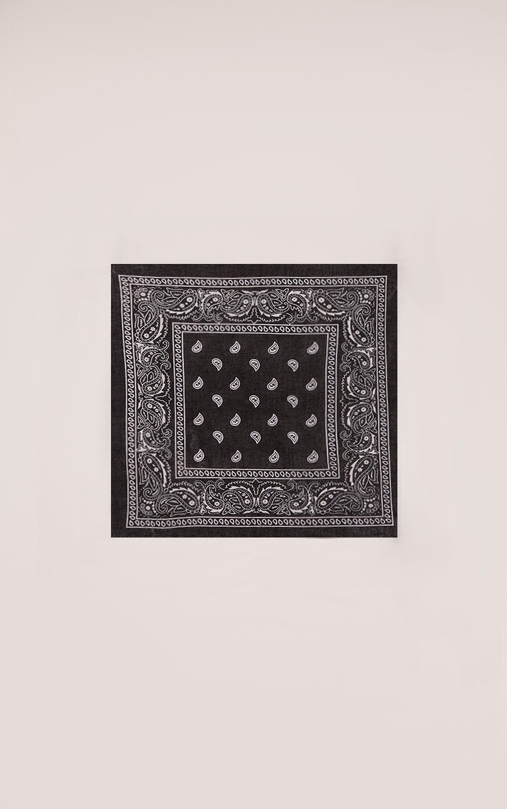 Takota Black Bandana 4