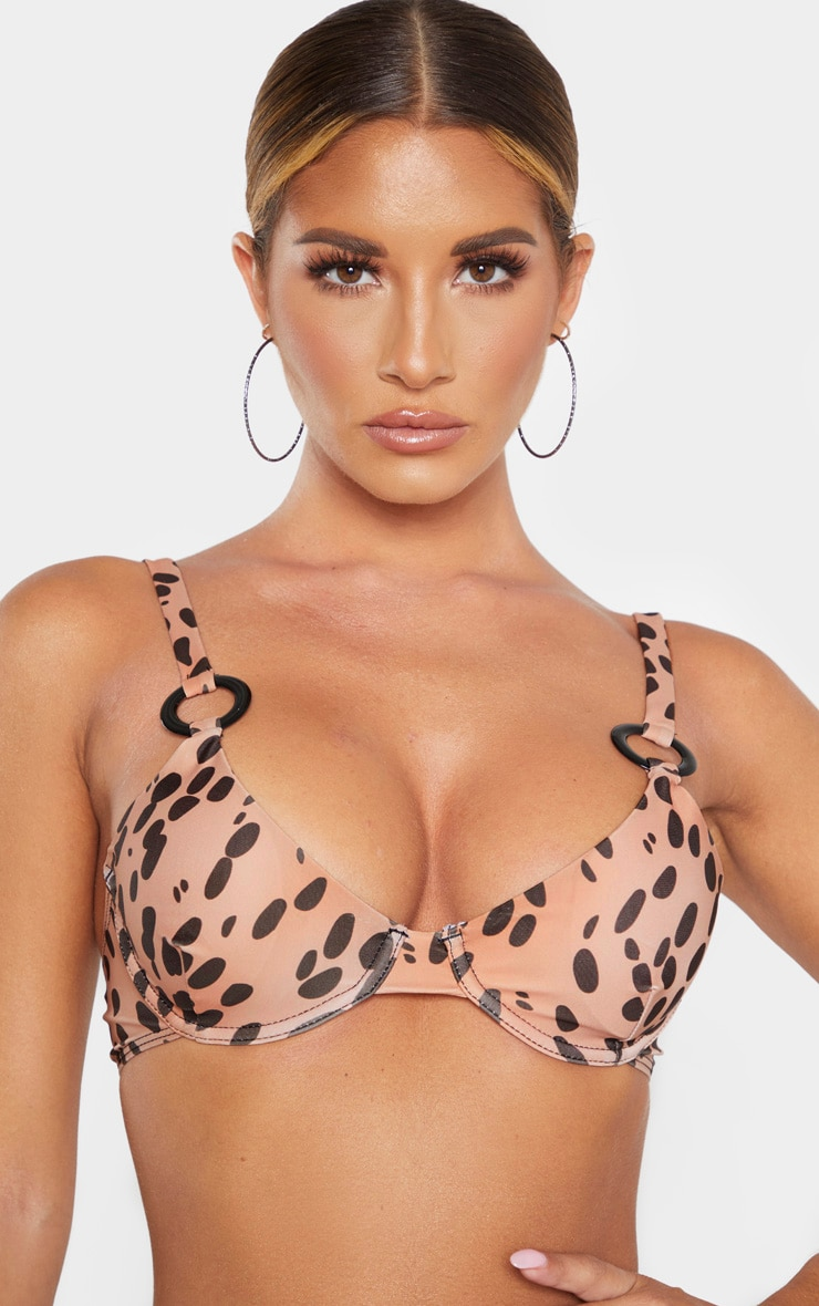 Nude Spot Underwired Ring Detail Bikini Top 5