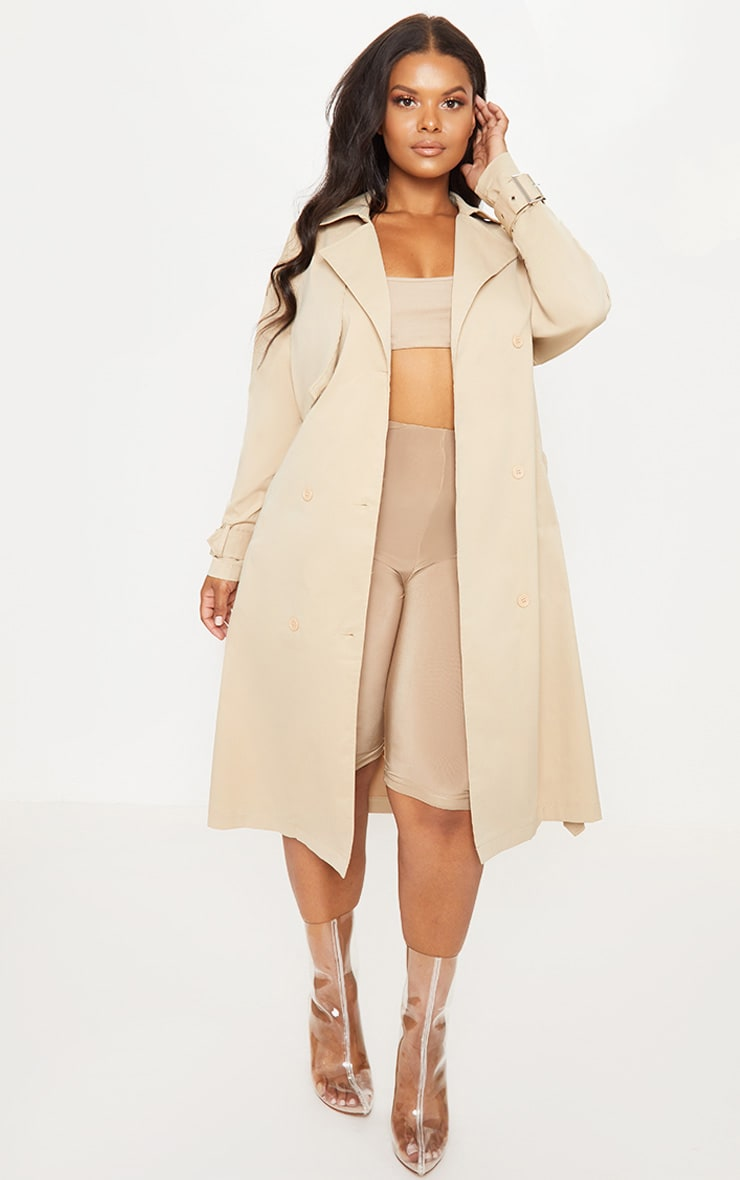 Plus Stone Trench Coat 1