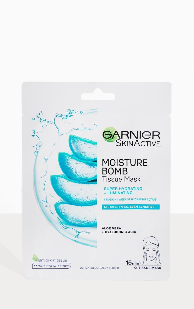 Garnier Moisture Bomb Aloe Vera Hyaluronic Acid Hydrating Sheet Mask 2