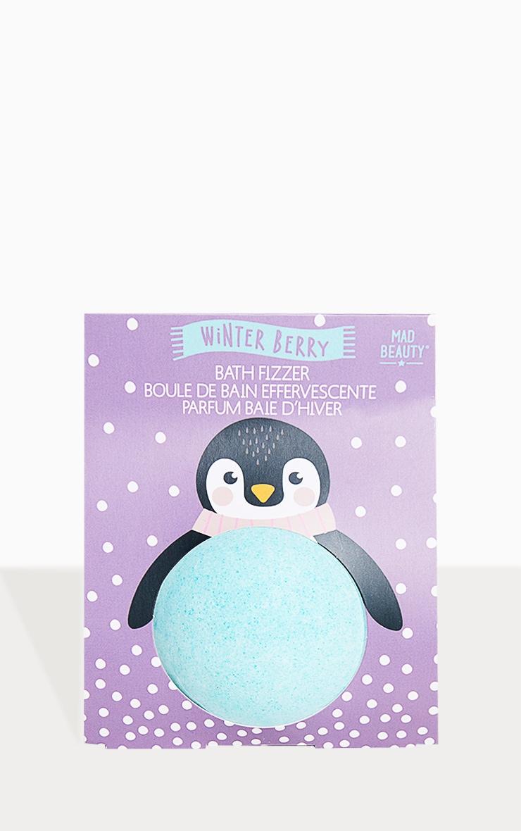 I Love Christmas Bath Fizzer Penguin
