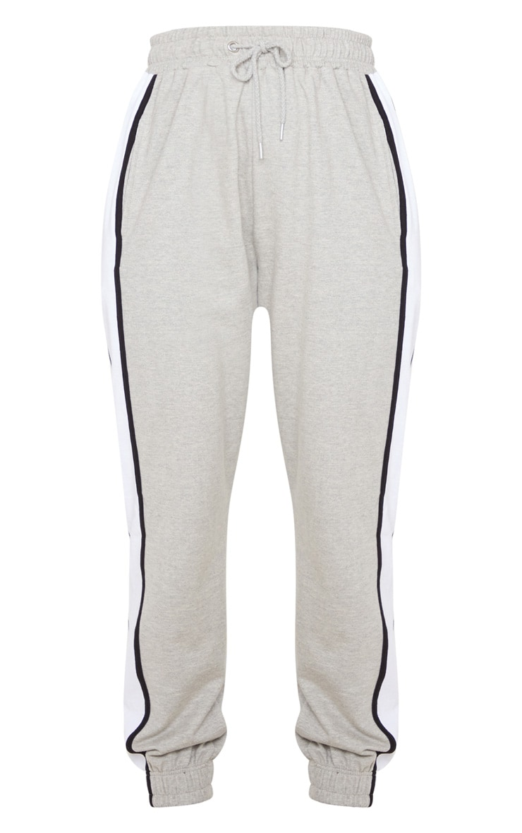 Grey Multi Side Stripe Joggers 3