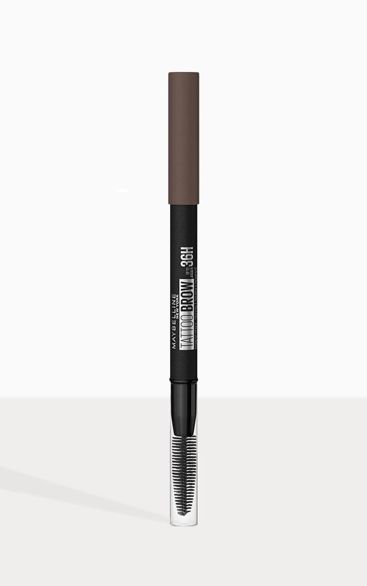 Maybelline Tattoo Brow Semi Permanent 36HR Eyebrow Pencil Deep Brown 07 1