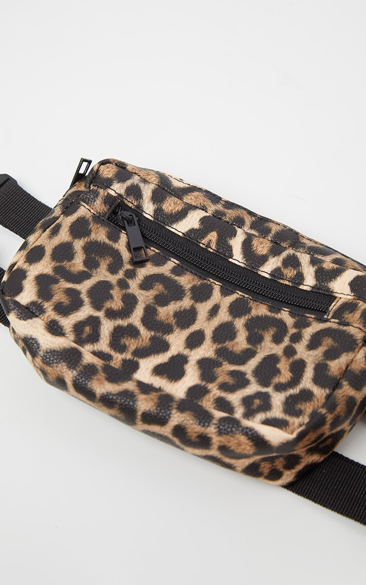 Leopard Square Fanny Pack 2
