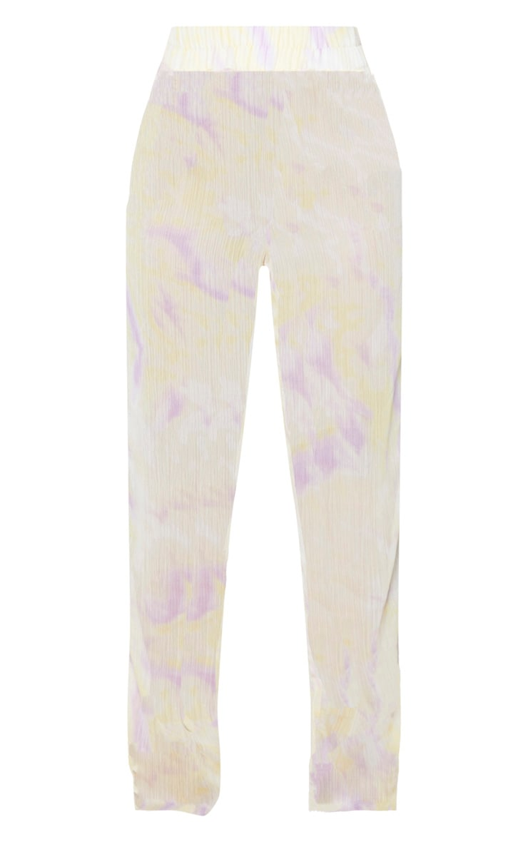 Lilac Tie Dye Wide Leg Beach Pants 5