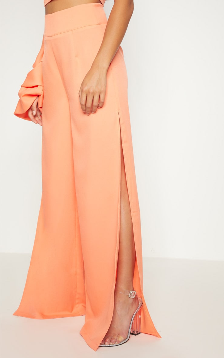 Petite Coral Wide Leg Trousers 2