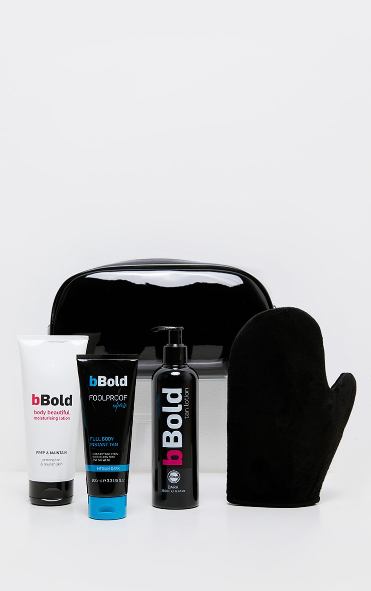 bBold Born To bBoldLotion Dark 4 Piece Bag 2