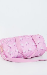 PRETTYLITTLETHING Unicorn Pink Gym Bag 4