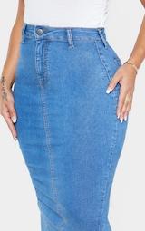 Shape Mid Wash Disco Midi Skirt 4