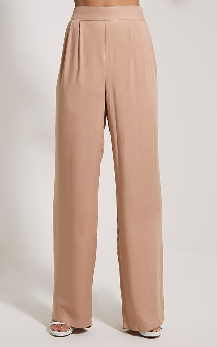 Posey Tan Relax Fit Trousers 2