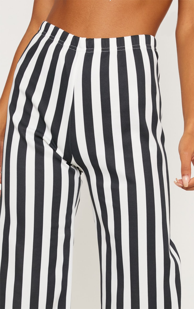 Black Striped Culottes  4