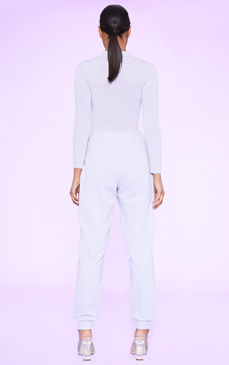 RECYCLED Pale Violet Joggers 4