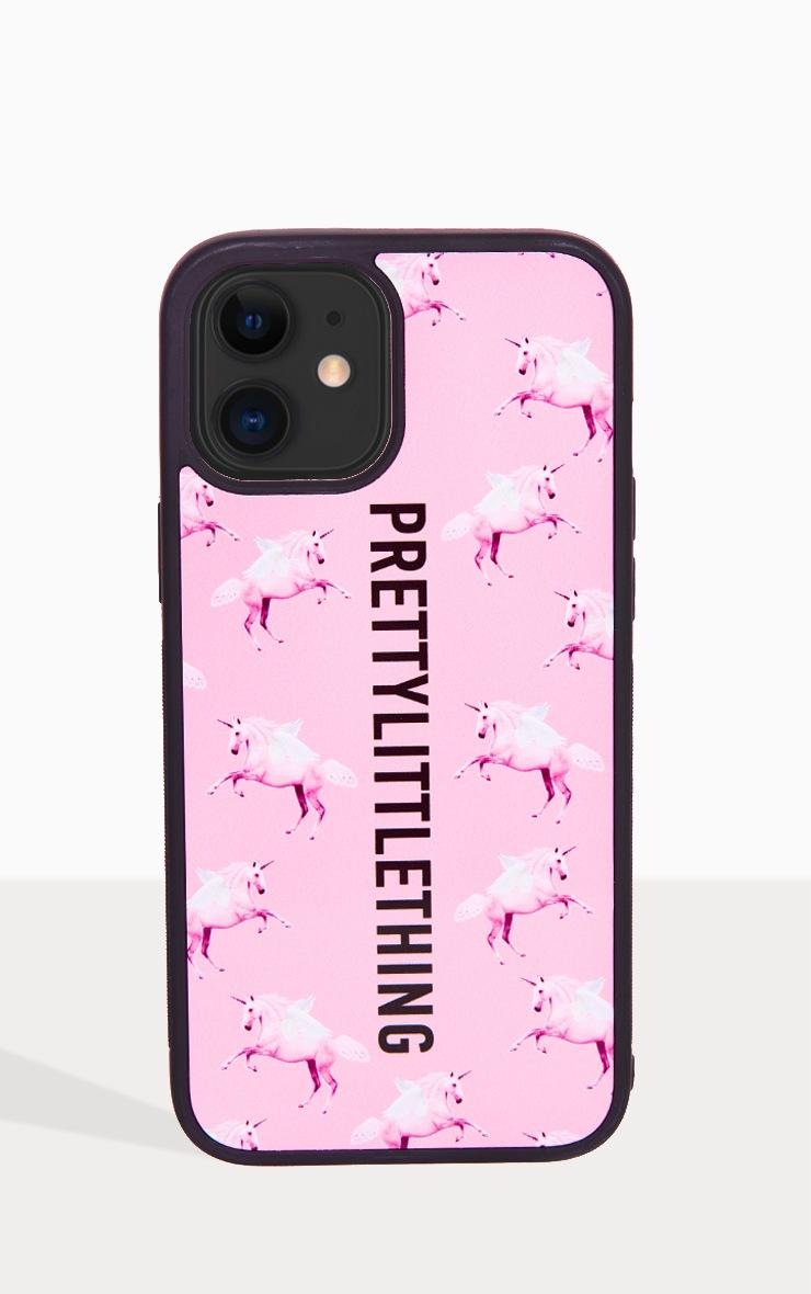 PRETTYLITTLETHING Unicorn Pink iPhone 12 Pro Max Phone Case 2