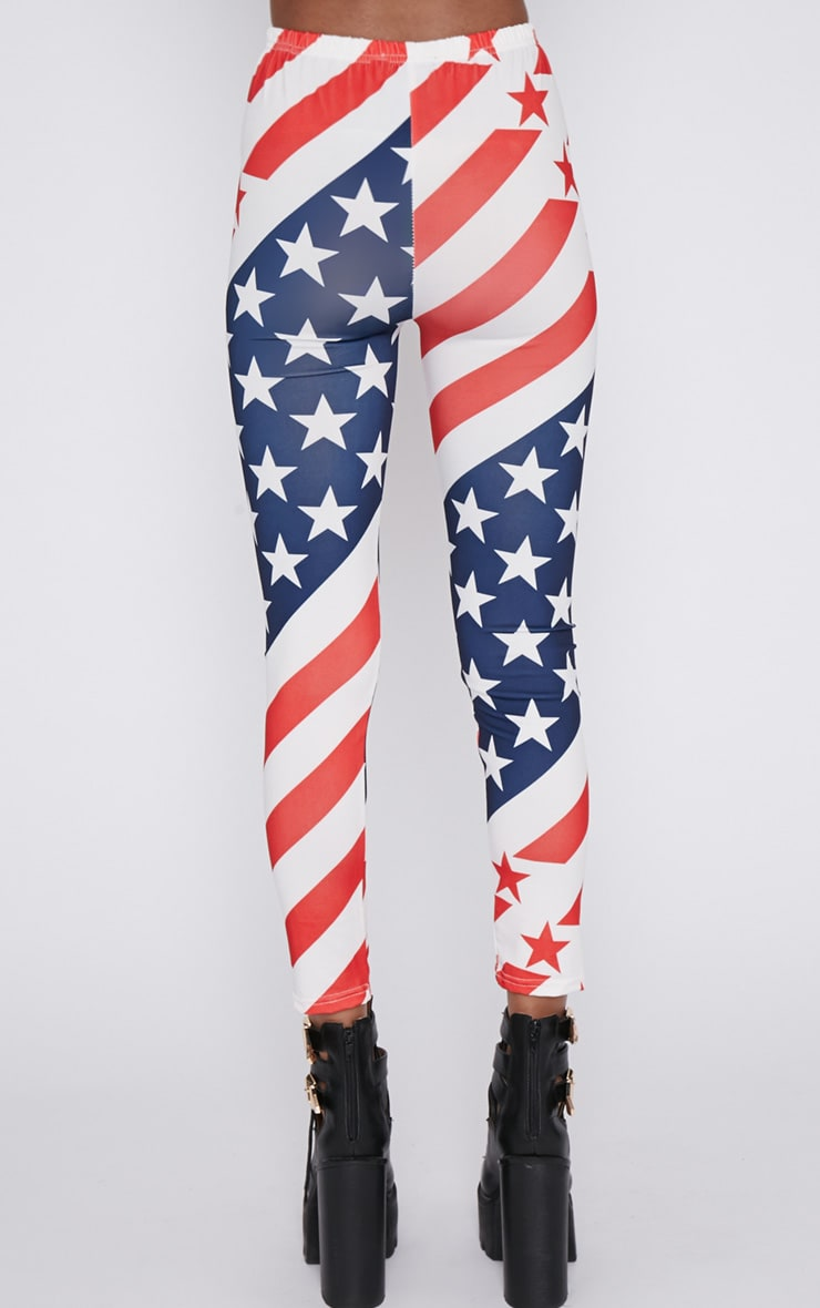 Morgana American Flag Legging  2