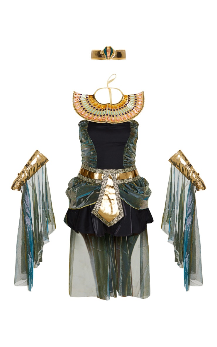 Black Sexy Egyptian Goddess Costume 3