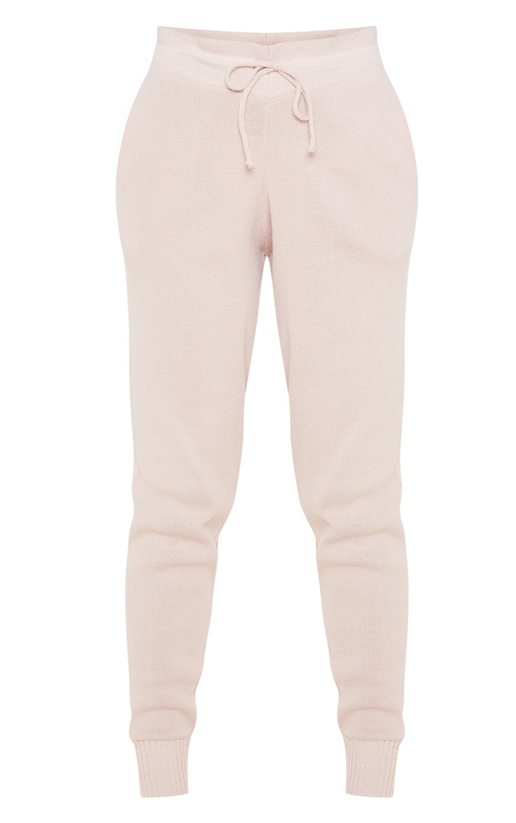 Blush Knitted Jogger 3