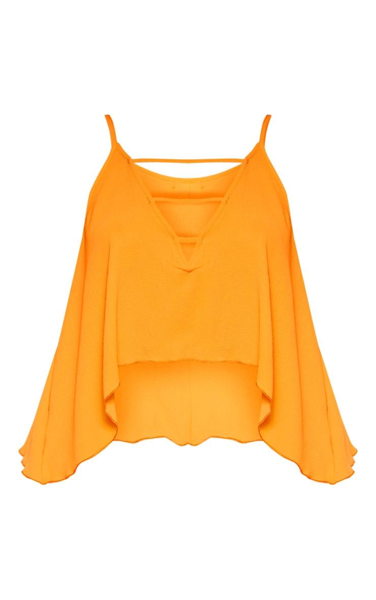 Plus Bright Orange Cami Top  3