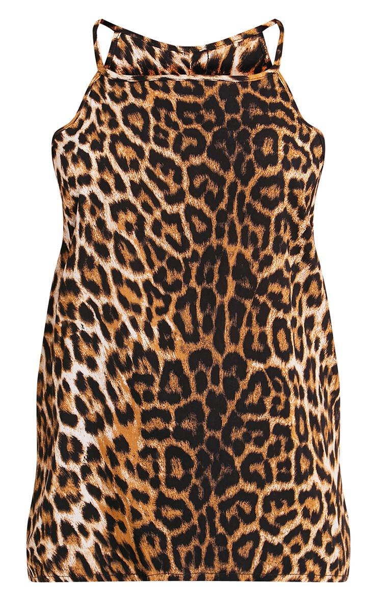 Theyda Tan Leopard Print Soft Cami Top 3
