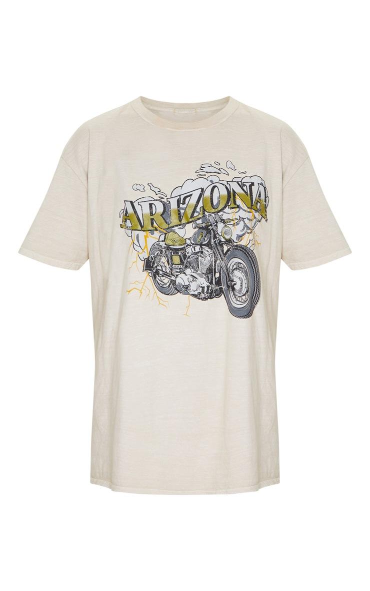 Sand Arizona Washed T Shirt 5