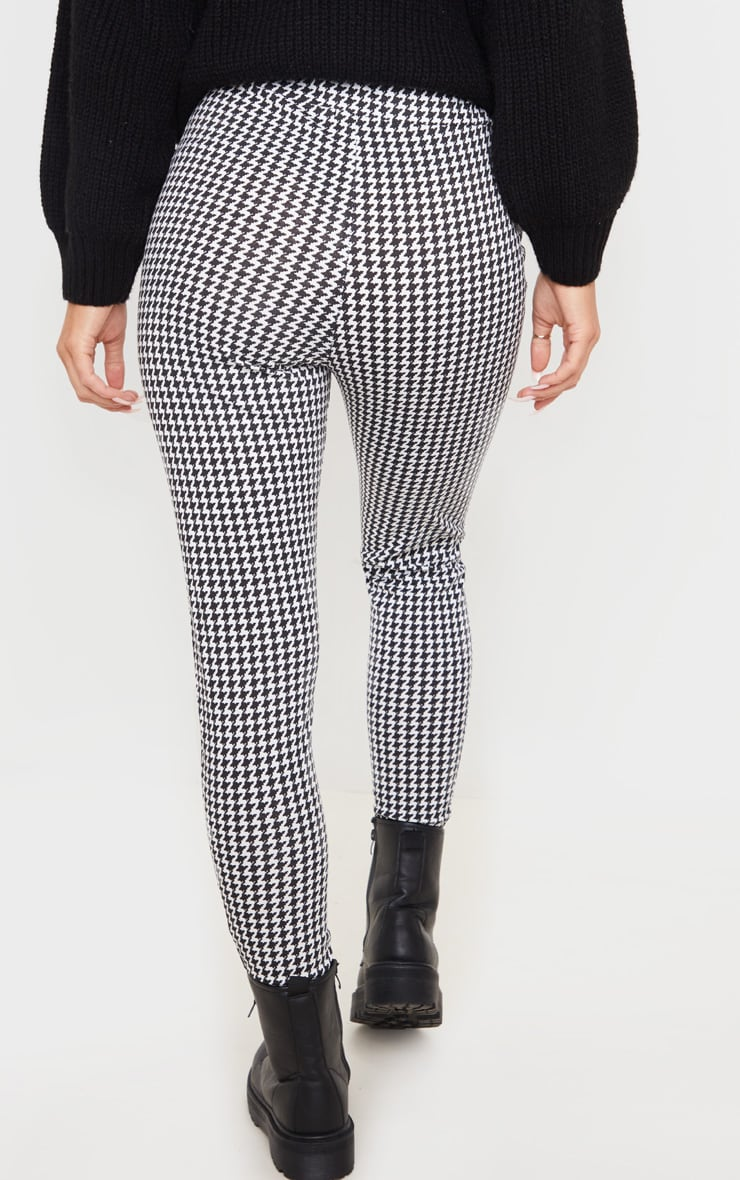Dogtooth Checked Ponte Legging 4