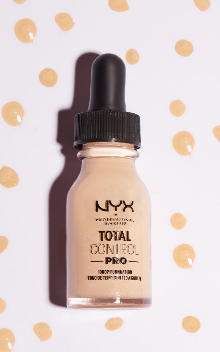NYX PMU Total Control Pro Drop Controllable Coverage Foundation Light Porcelain 1