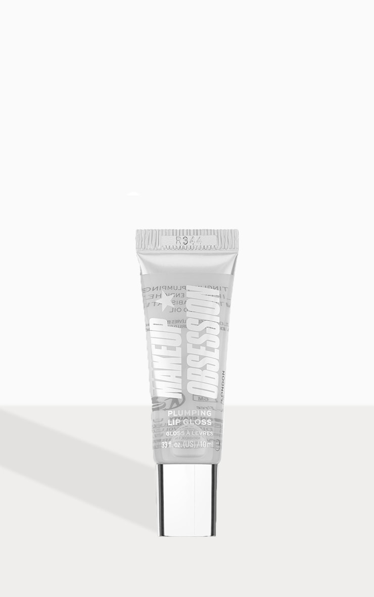 Makeup Obsession Mega Plump Lipgloss Clear Basic 1