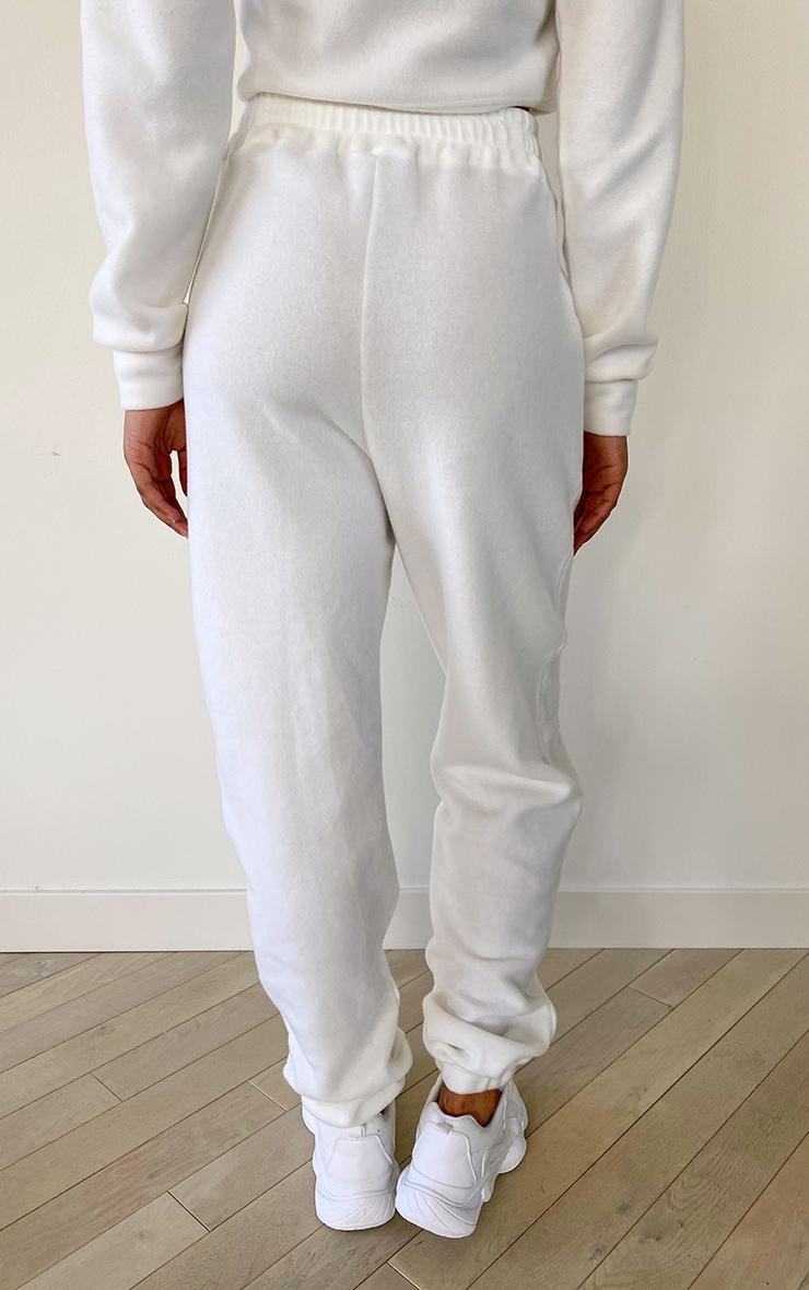 Tall White Brushed Sweat Oversized Sweatpants 2
