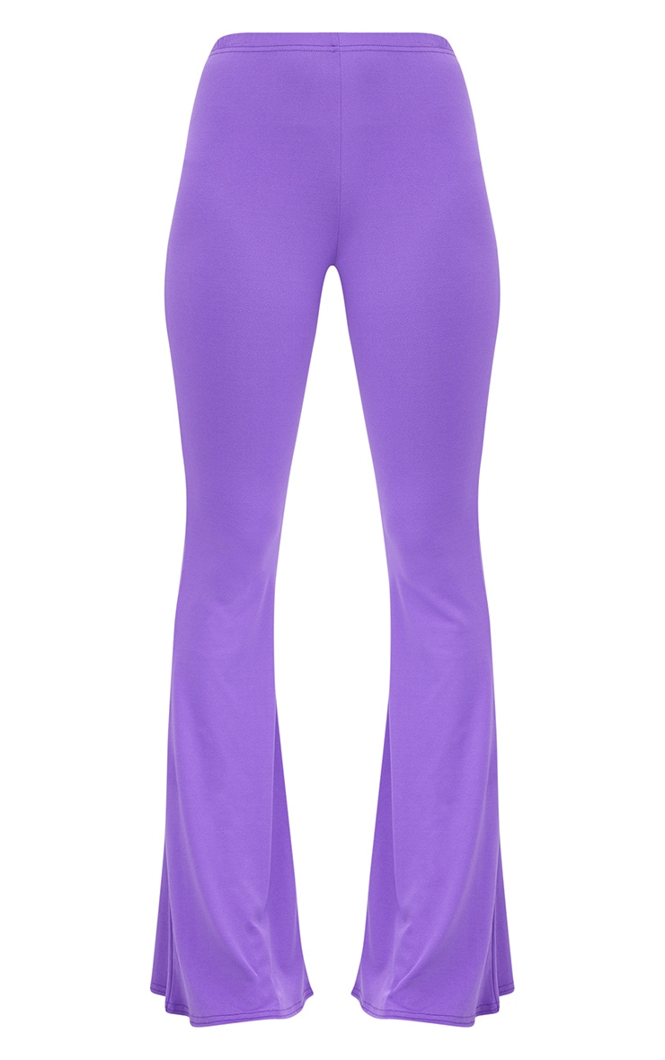 Purple Ultimate Flared Trousers 3