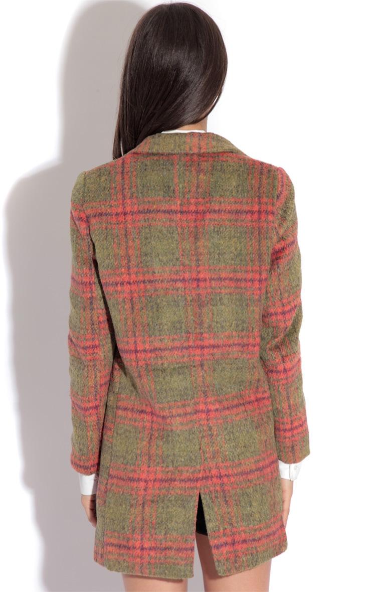 Joleen Green Check Jacket 3
