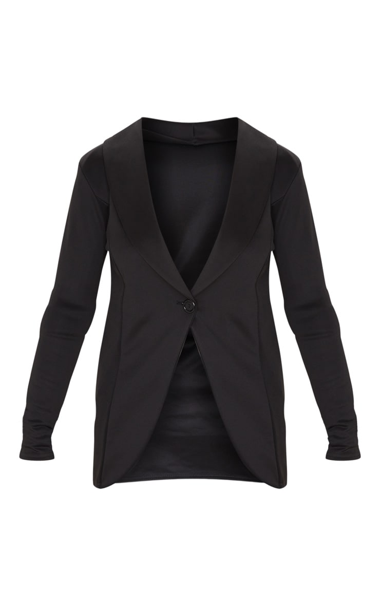 Black Fitted Blazer 3