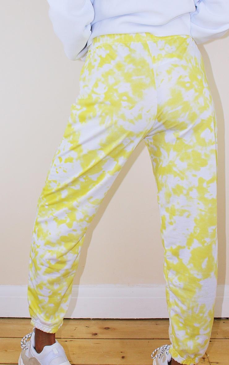 Petite Yellow Tie Dye Jogger 3