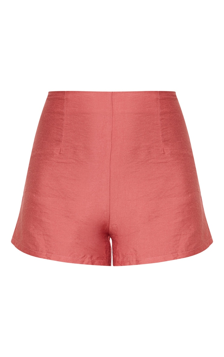 Rose High Waisted Shorts 3