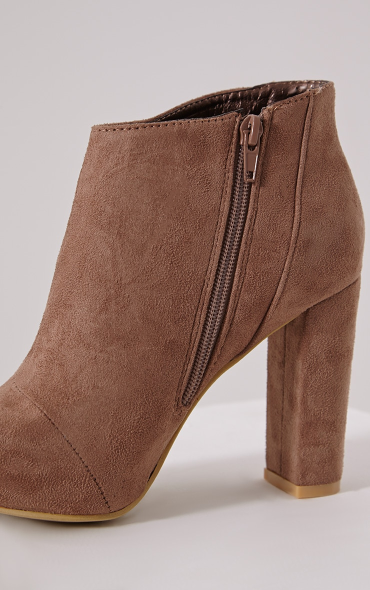 Roux Mocha Suede Ankle Boot 6