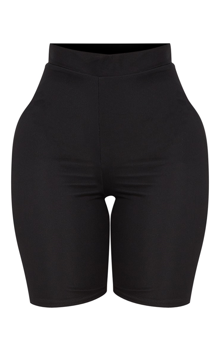 Shape- Short legging en mesh noir 3