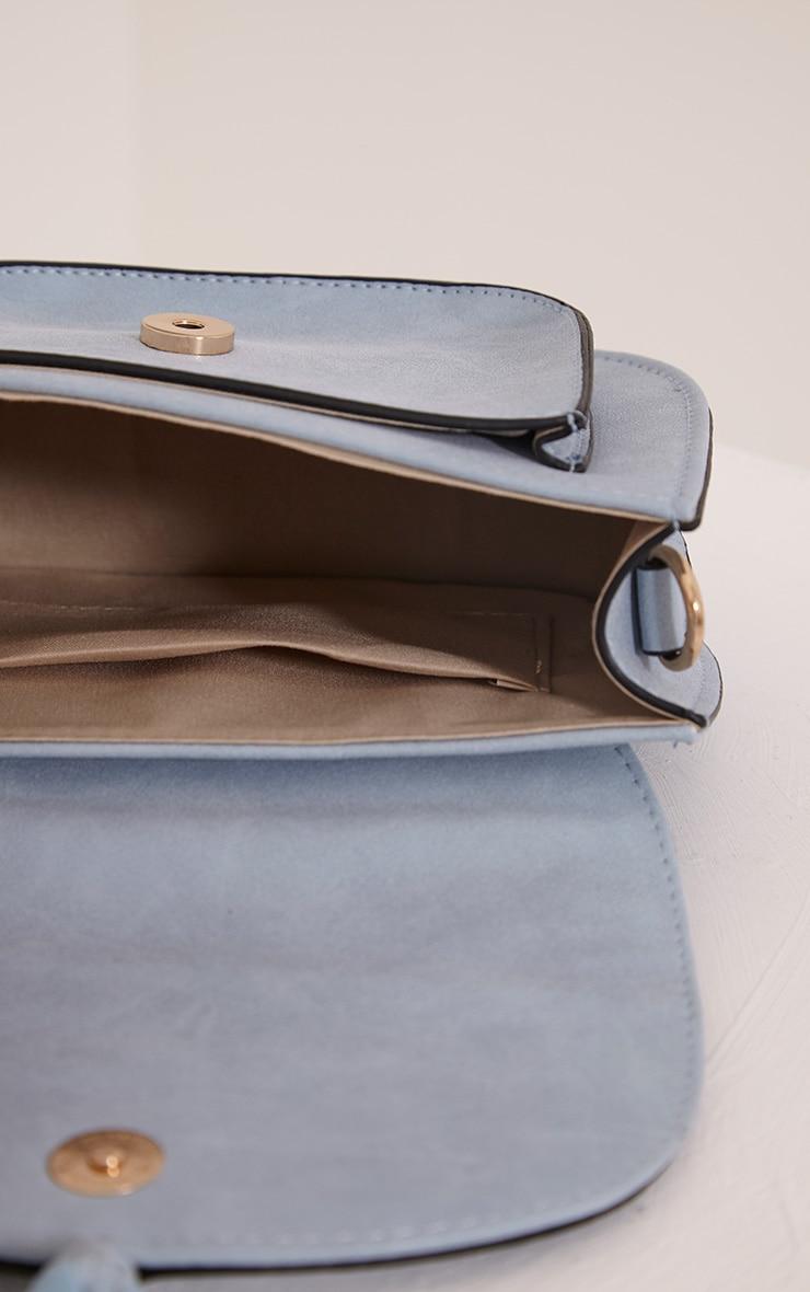 Beti Baby Blue Tassel Shoulder Bag 5