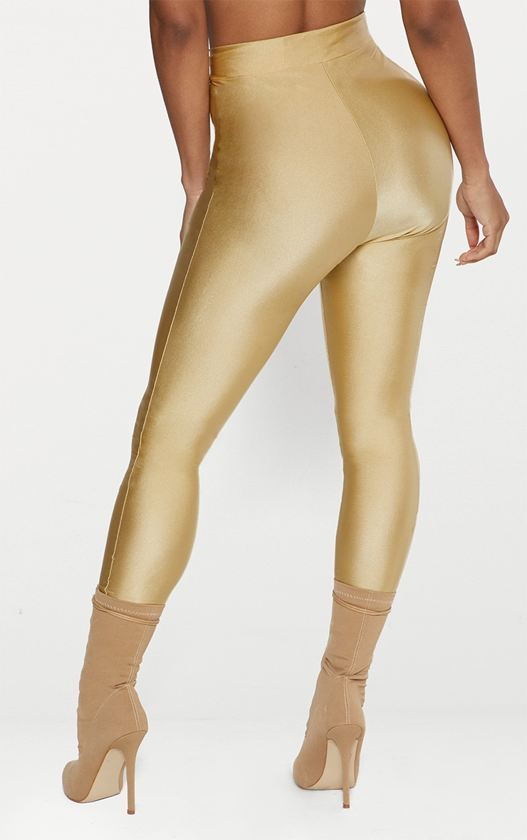 Seconde Peau - Pantalon disco champagne 5