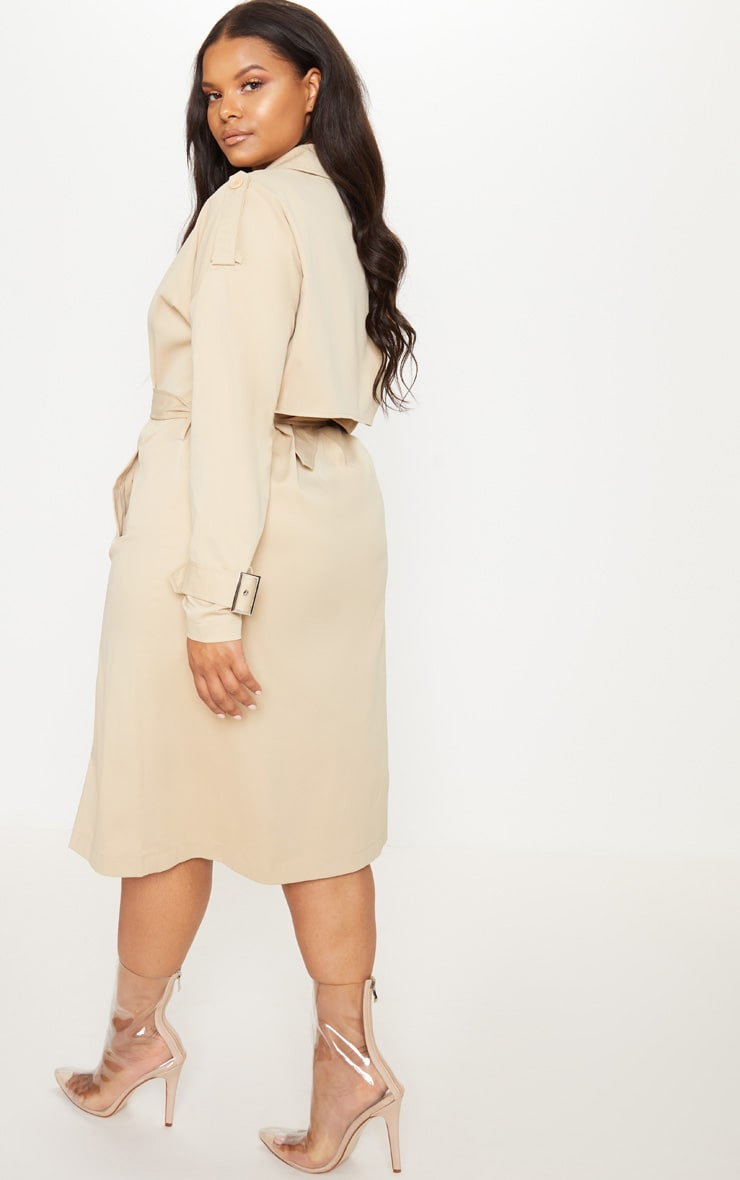 Plus Stone Trench Coat 2