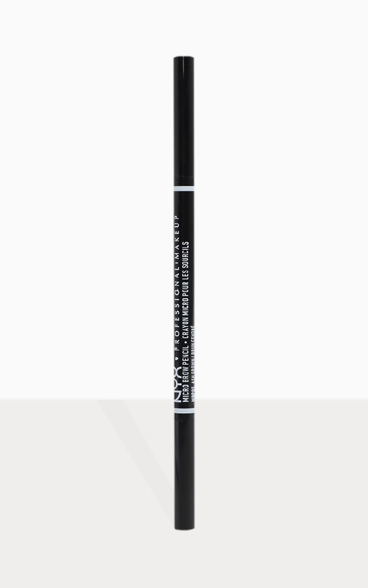 NYX PMU Micro Brow Pencil Ash Brown 2