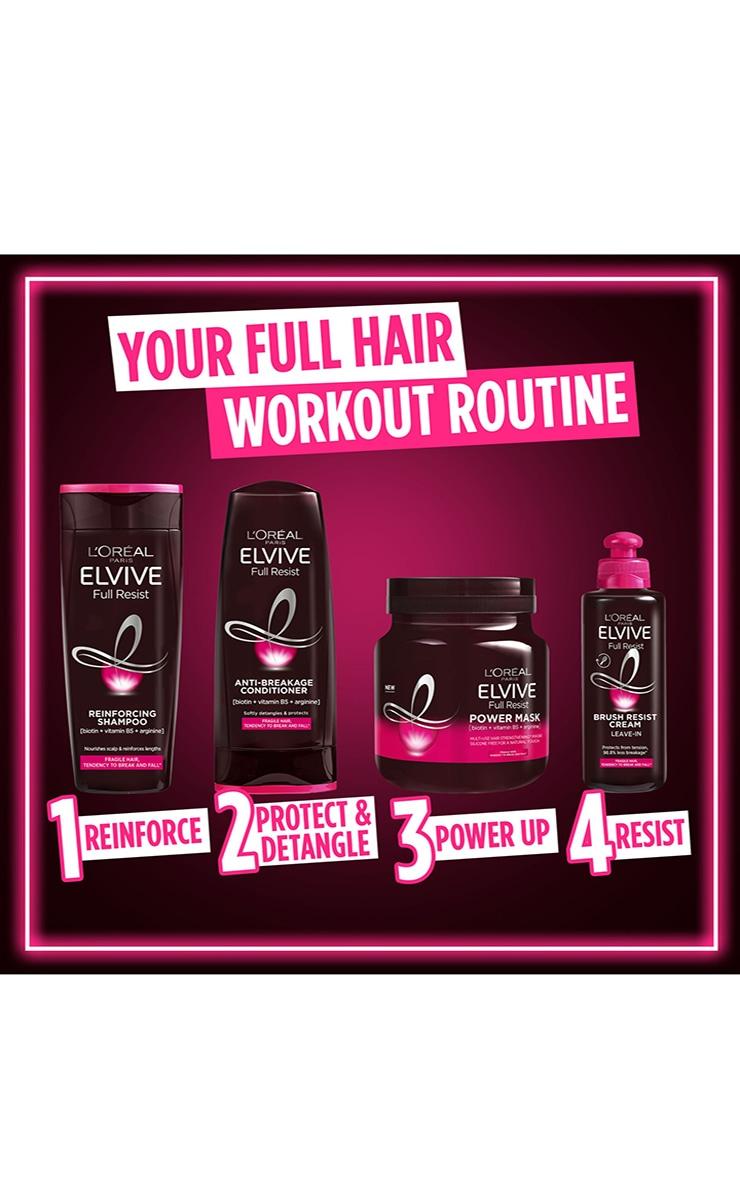 L'Oreal Elvive Full Resist Reinforcing Fragile Hair Shampoo 400ml 7