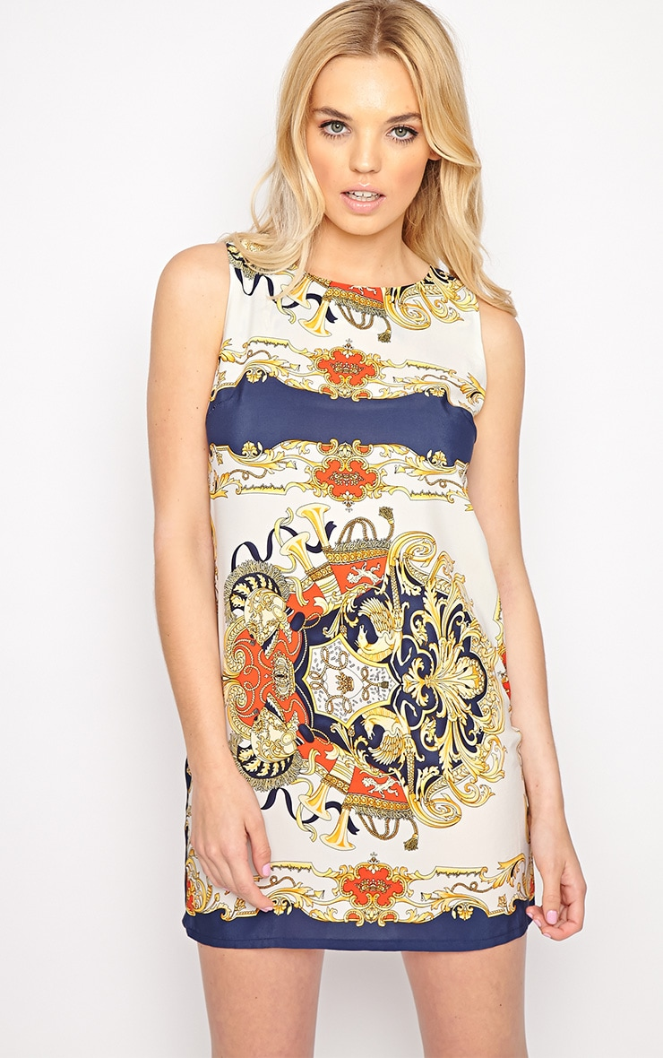 Margot Regal Print Shift Dress 1