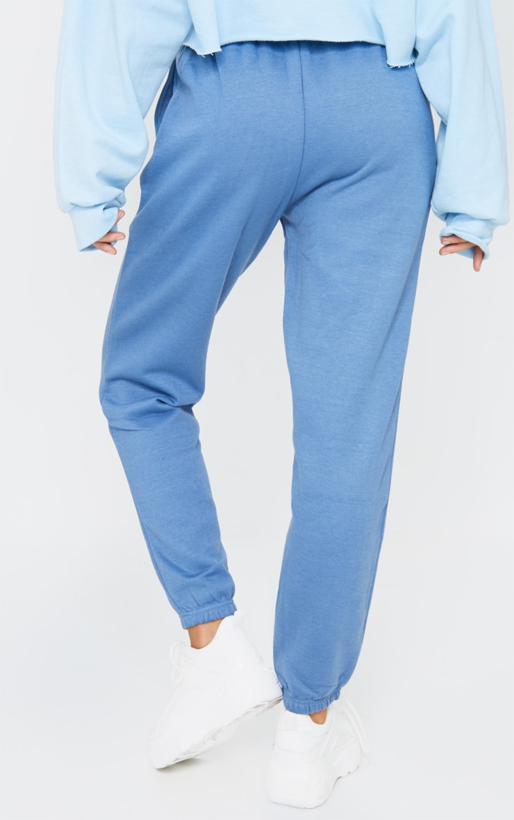 Dusty Blue Sweat Pant Joggers 3