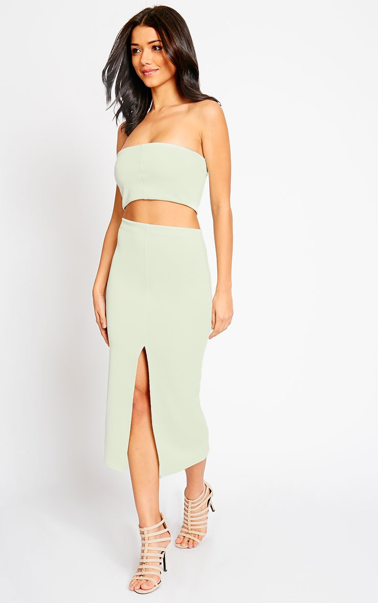 Kaja Mint Scuba Split Skirt 6