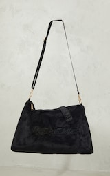 PRETTYLITTLETHING Black Signature Travel Bag 2