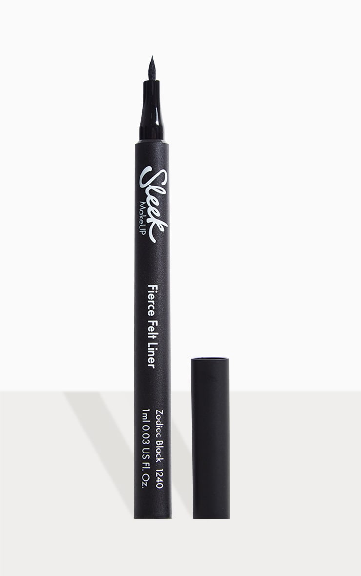 Sleek MakeUP Fierce Felt Eyeliner Zodiac Black 2
