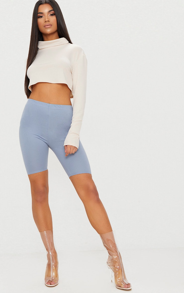 Dusky Blue Cycling Shorts 5