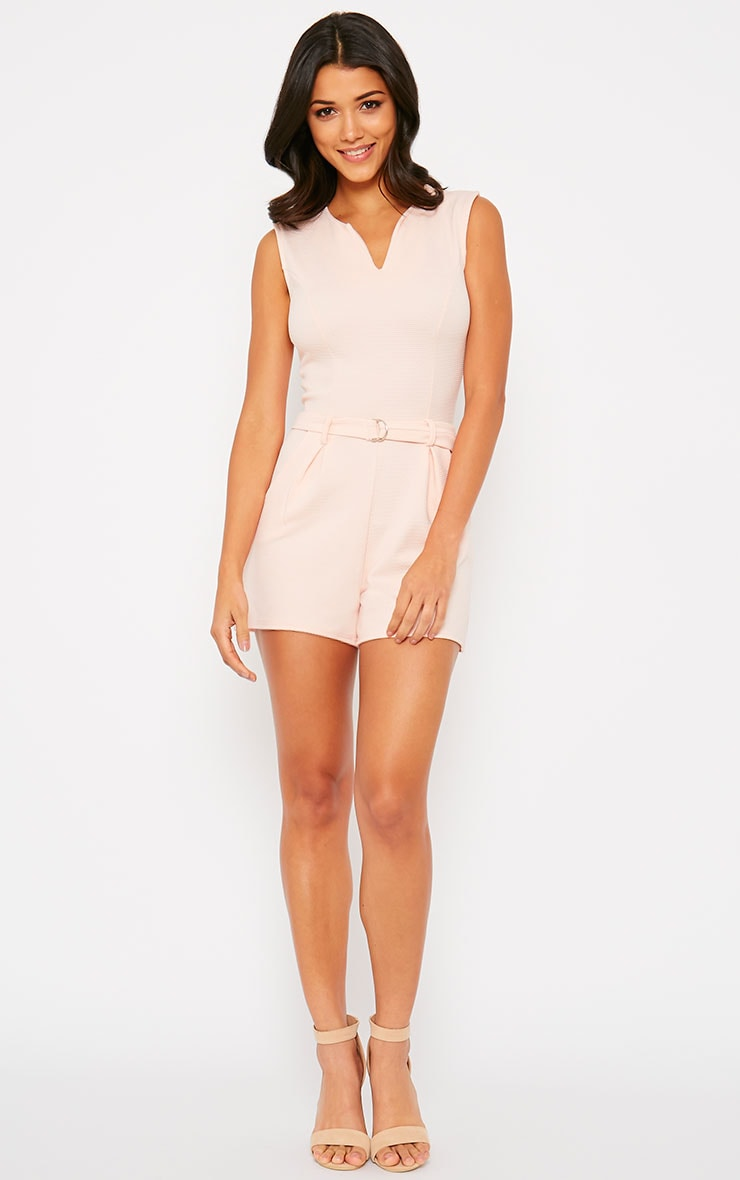 Evie Nude D-Ring Playsuit 3