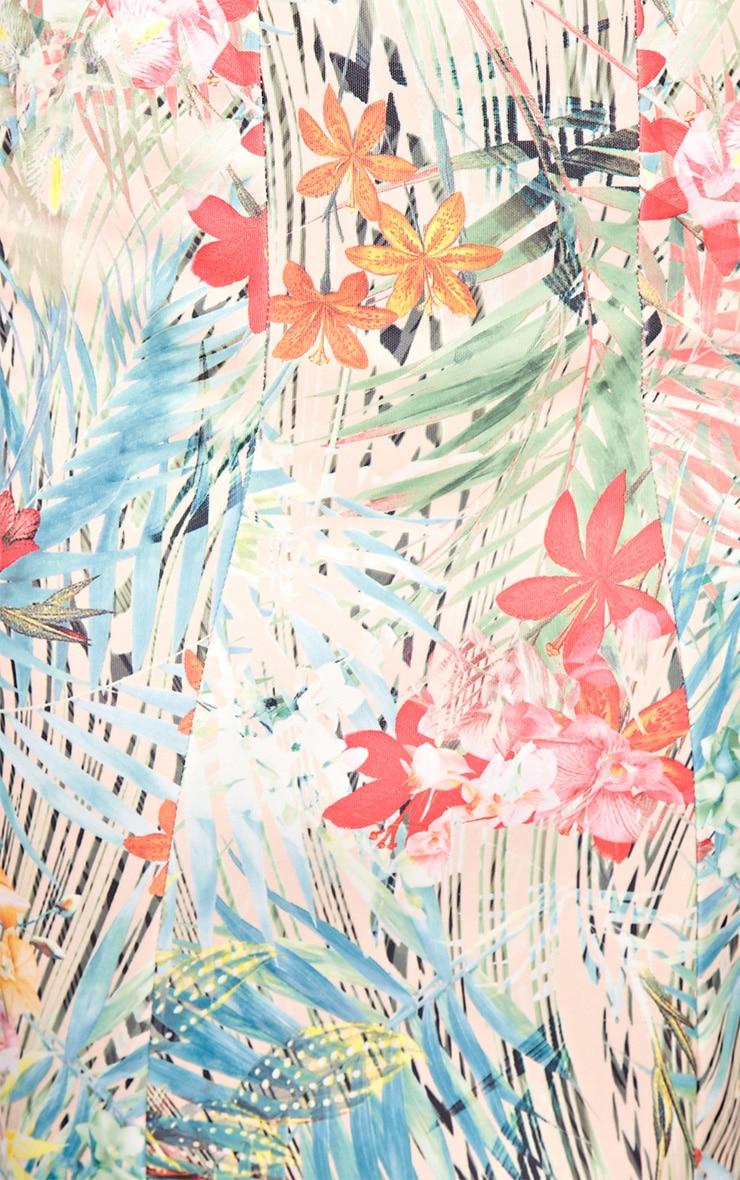 Gianna Multi Print Tropical Dress 6